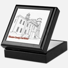 Winston County Alabama Courthouse Keepsake Box