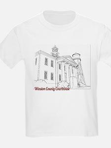 Winston County Alabama Courthouse T-Shirt