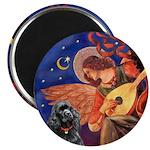Angel3 - Black Cocker Magnet