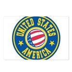 US of A Postcards (Package of 8)