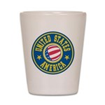 US of A Shot Glass