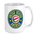US of A Large Mug