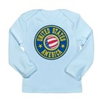 US of A Long Sleeve Infant T-Shirt