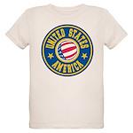 US of A Organic Kids T-Shirt