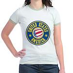 US of A Jr. Ringer T-Shirt