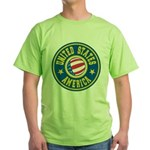 US of A Green T-Shirt
