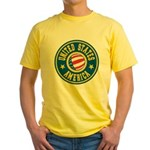 US of A Yellow T-Shirt