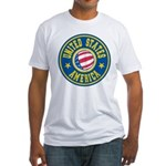 US of A Fitted T-Shirt