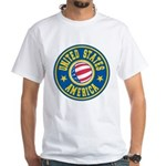 US of A White T-Shirt
