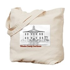 Winston County Alabama Courthouse Tote Bag