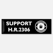 Legal Marijuana Support HR2306 Bumper Bumper Sticker