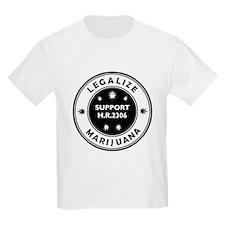 Legal Marijuana Support HR2306 T-Shirt