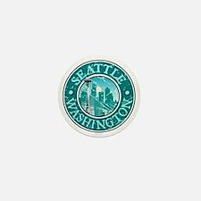 Seattle, Washington Mini Button