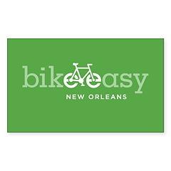 Green Bike Decal