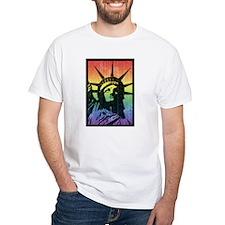 Rainbow Liberty 'Vintage' Shirt