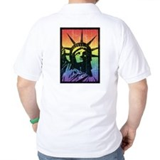 Rainbow Liberty 'Vintage' T-Shirt