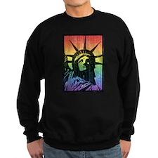 Rainbow Liberty 'Vintage' Sweatshirt