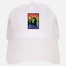 Rainbow Liberty 'Vintage' Baseball Baseball Cap