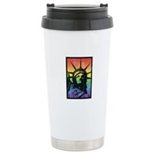 Rainbow Liberty 'Vintag Travel Mug