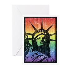 Rainbow Liberty 'Vintage Greeting Cards (Pk of 20)