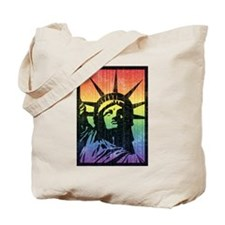 Rainbow Liberty 'Vintage' Tote Bag