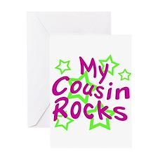 My Cousin Rocks Greeting Card