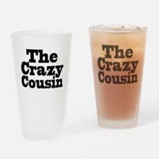 The Crazy Cousin Pint Glass