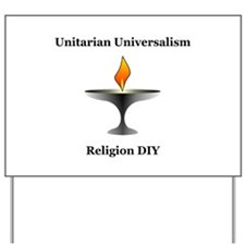 UU - Religion DIY Yard Sign