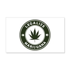 Legalize Marijuana 22x14 Wall Peel
