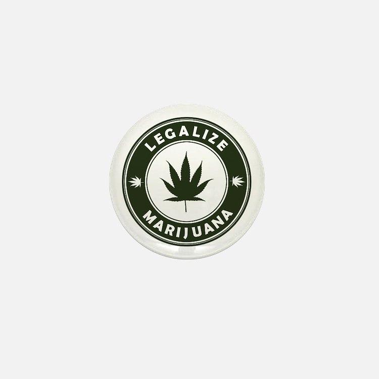 Legalize Marijuana Mini Button