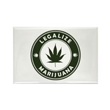 Legalize Marijuana Rectangle Magnet