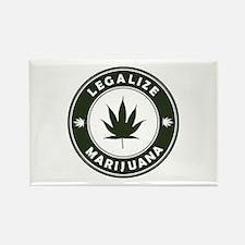 Legalize Marijuana Rectangle Magnet