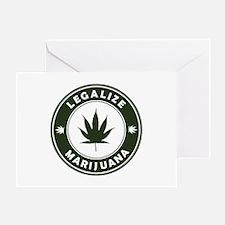 Legalize Marijuana Greeting Card