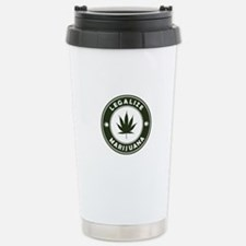 Legalize Marijuana Travel Mug