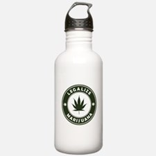 Legalize Marijuana Sports Water Bottle
