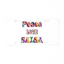 Salsa Aluminum License Plate
