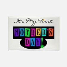 My First Mother's Day Rectangle Magnet