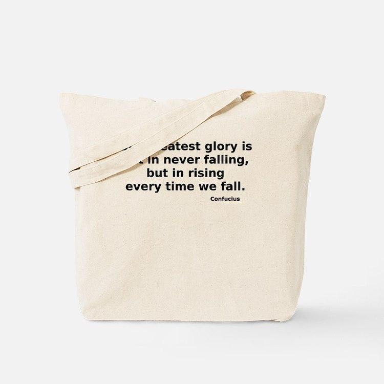 Cute Confucius Tote Bag