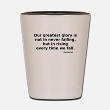 Cute Famous quotes Shot Glass