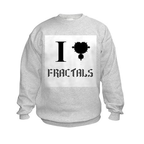 I (fractal) Fractals Kids Sweatshirt