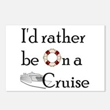 I'd Rather Cruise Postcards (Package of 8)