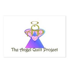Angel Quilt Project Postcards (Package of 8)
