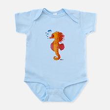Baby Seahorse Infant Bodysuit