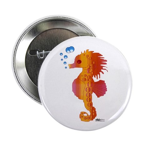 """Baby Seahorse 2.25"""" Button (10 pack)"""