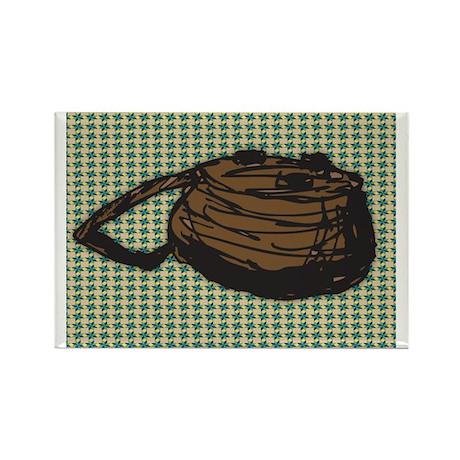 Fishing Basket Rectangle Magnet (100 pack)
