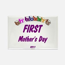 Mommy's First Rectangle Magnet