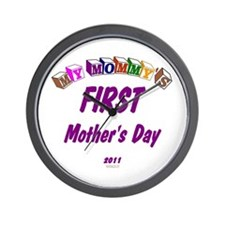 Mommy's First Wall Clock