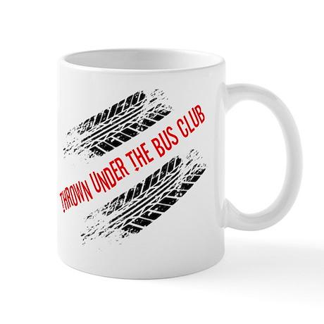 Thrown Under the Bus Club Mug