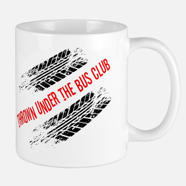 Thrown Under the Bus Club Mug