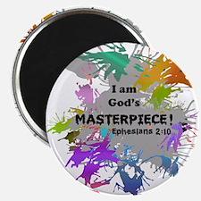 God's Masterpiece Magnet